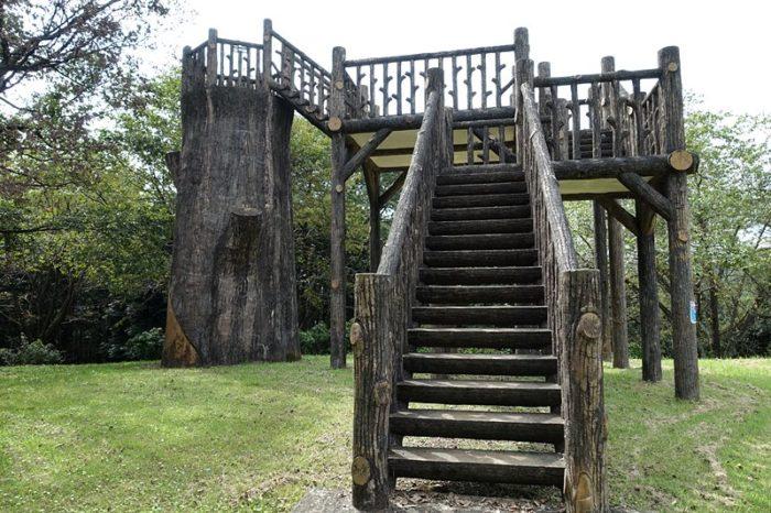 白尾山公園の「展望施設」
