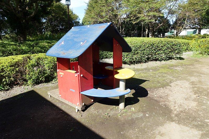 外神東公園のミニハウス