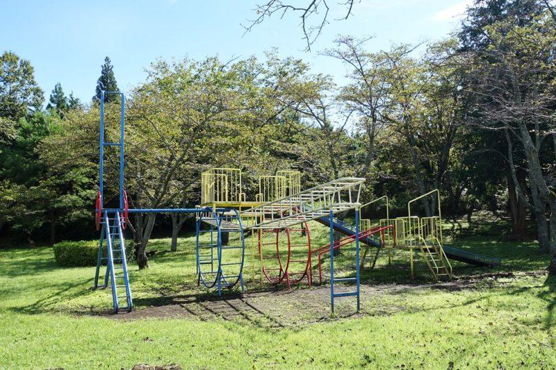 天母山自然公園の複合遊具