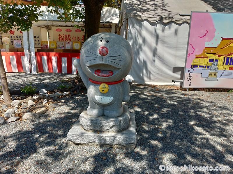 富知六所浅間神社のドラえもん