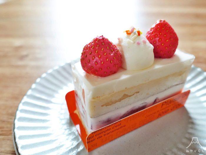 アンジュローブのショートケーキ