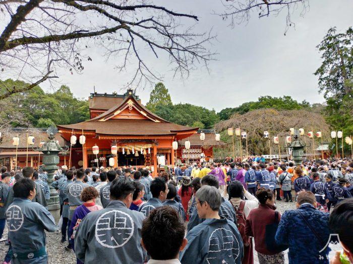 富士宮まつり「宮まいり」