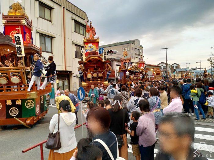 富士宮まつり「一斉囃子」