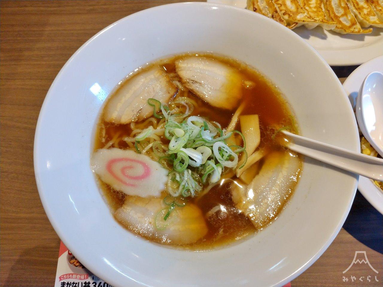 KOURAKUEN THE RAMEN CAFE 富士宮店の中華そば
