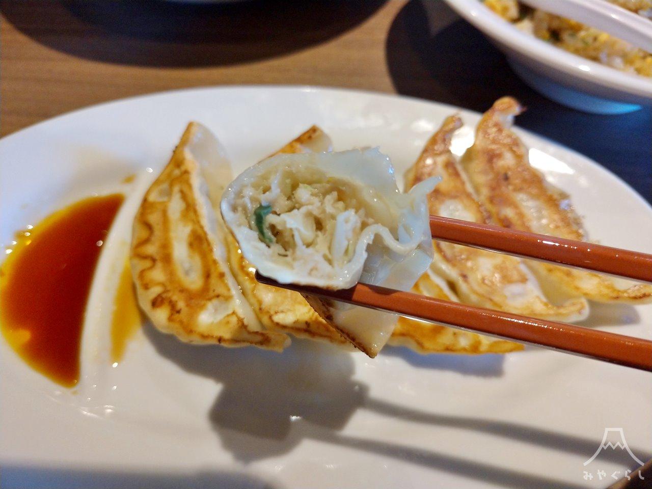 KOURAKUEN THE RAMEN CAFE 富士宮店の餃子