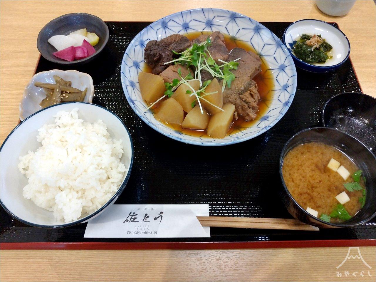 和食処佐とうの日替わり定食