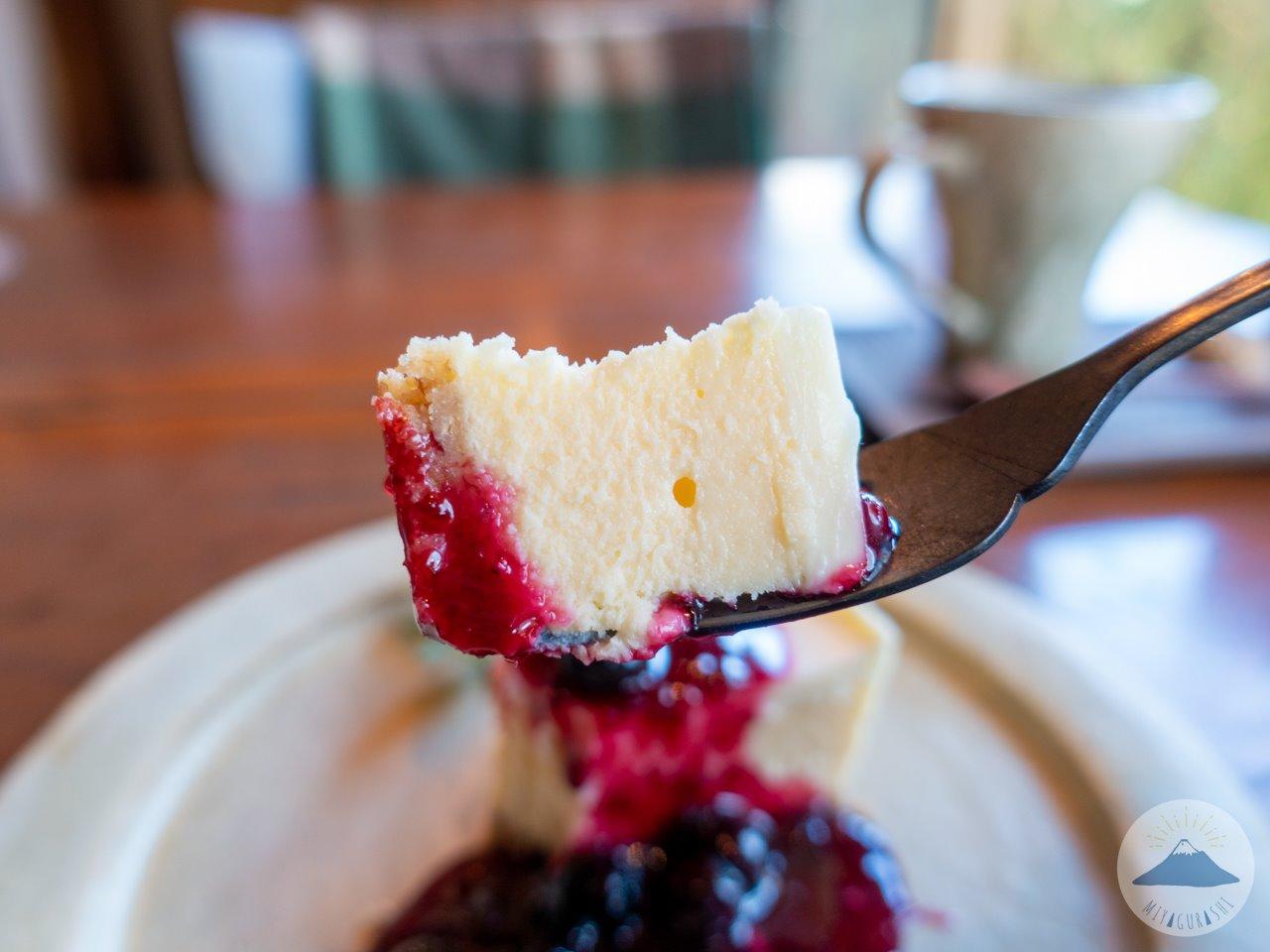 スペースワゾーのチーズケーキ