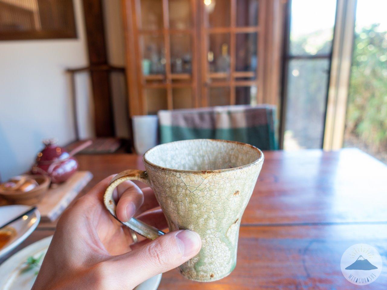 スペースワゾーのコーヒー