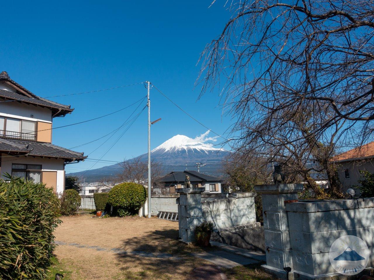 スペースワゾーから見る富士山