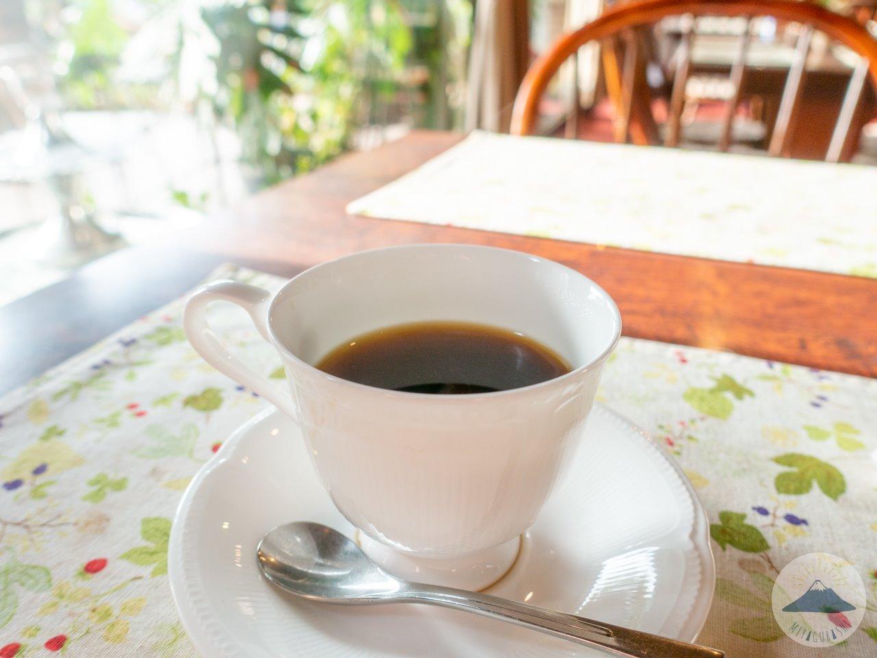 萩の亭のコーヒー
