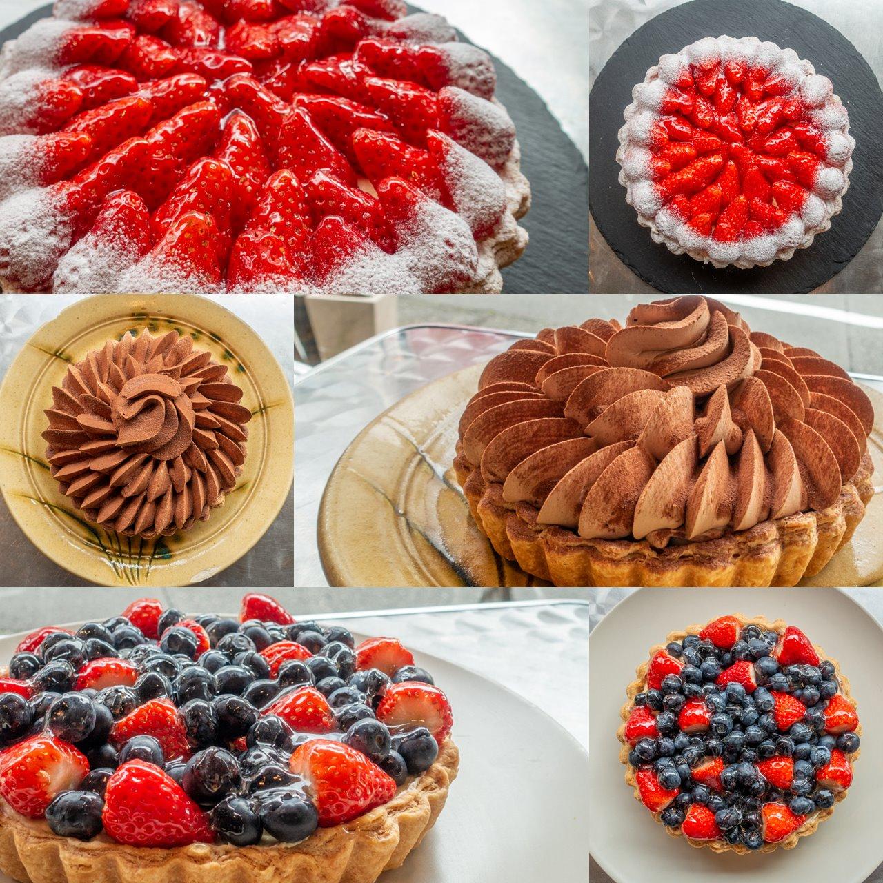 アンキャトルエピスのケーキ