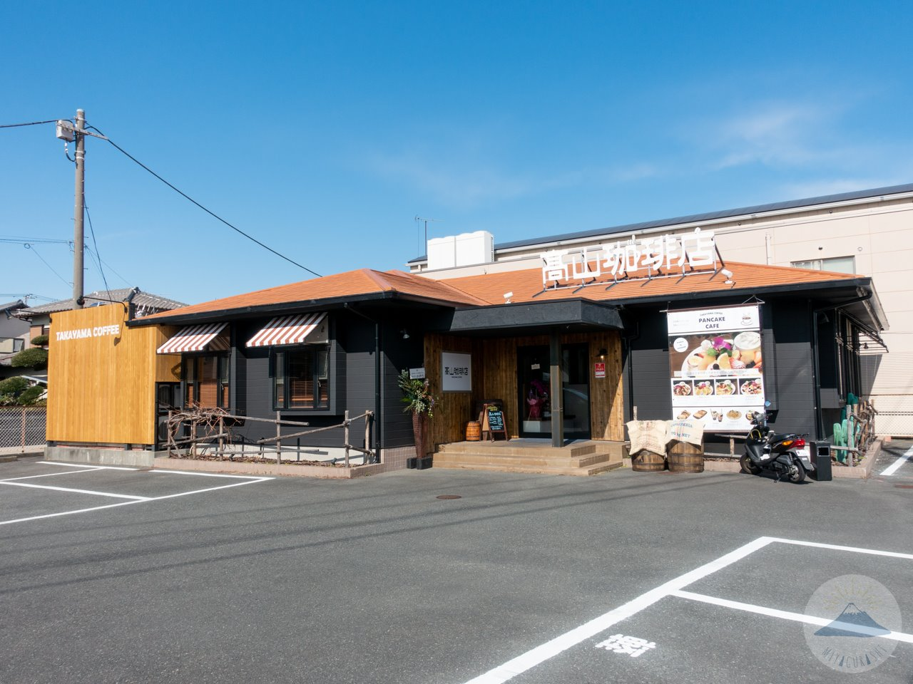 高山珈琲店の外観の様子