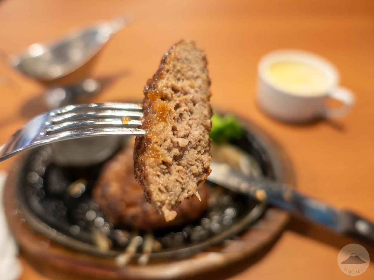 ステーキのあさくま富士店のあさくまハンバーグ