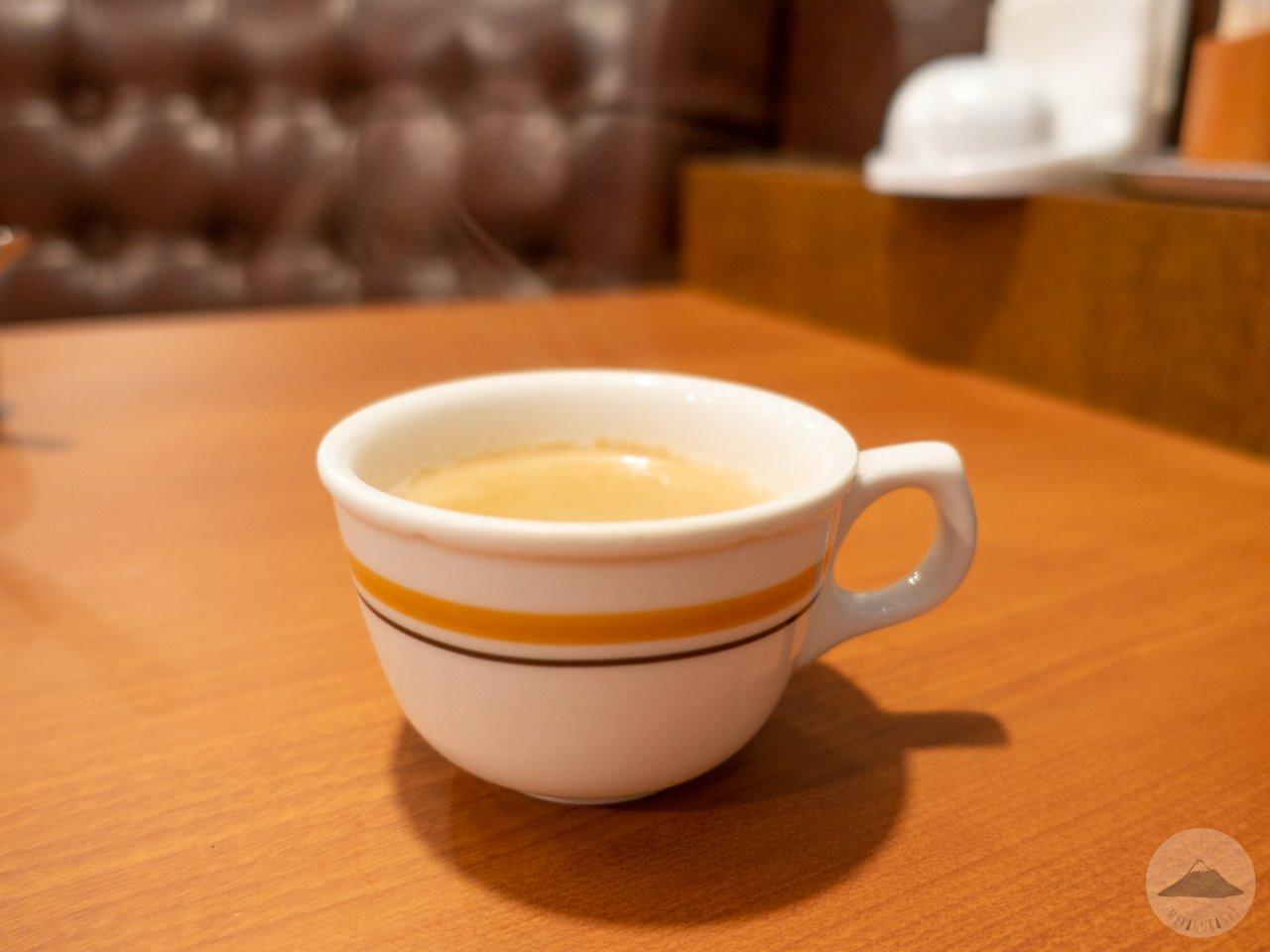ステーキのあさくま富士店のブレンドコーヒー