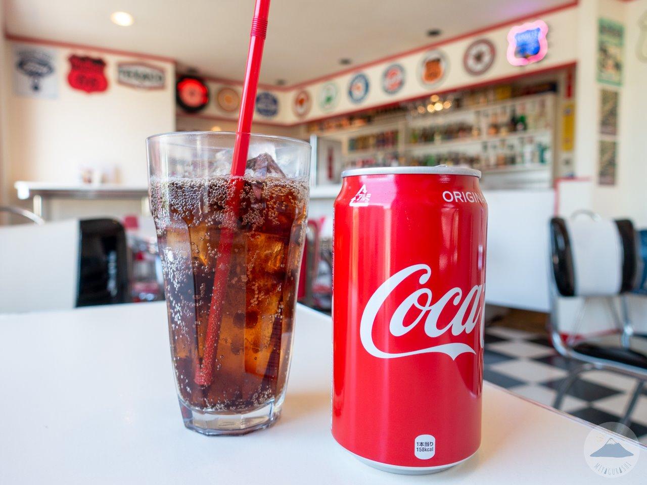 モンテゴカフェのコーラ
