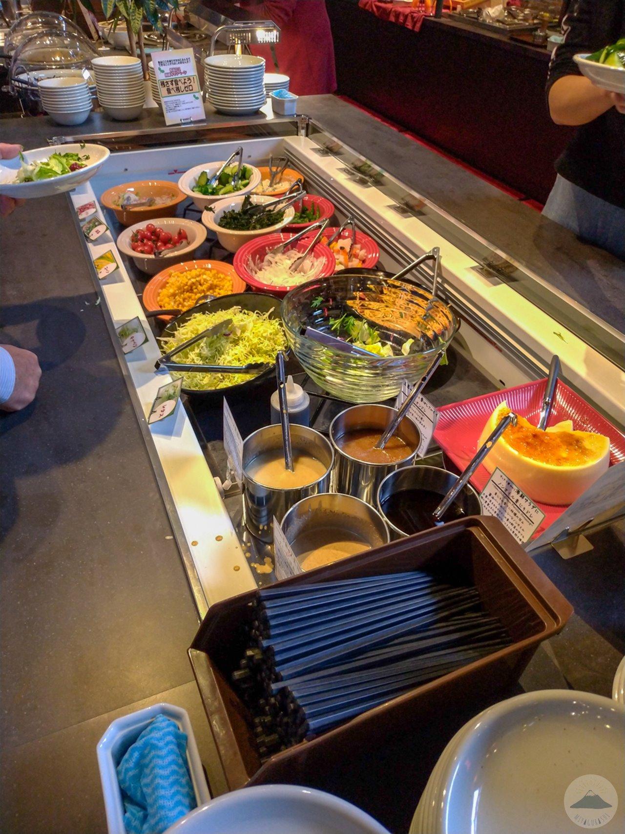 ステーキのあさくま富士店のサラダバー