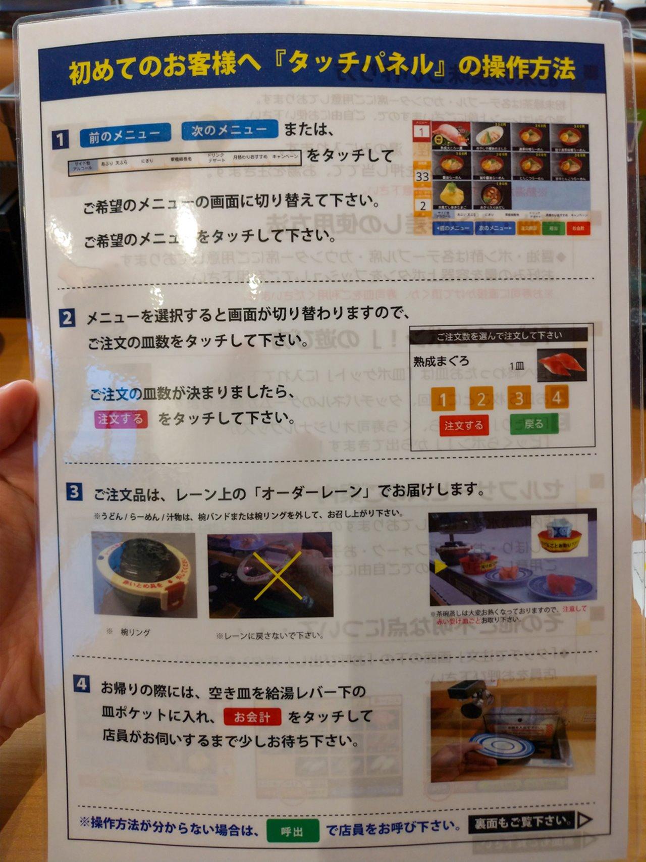 くら寿司の説明