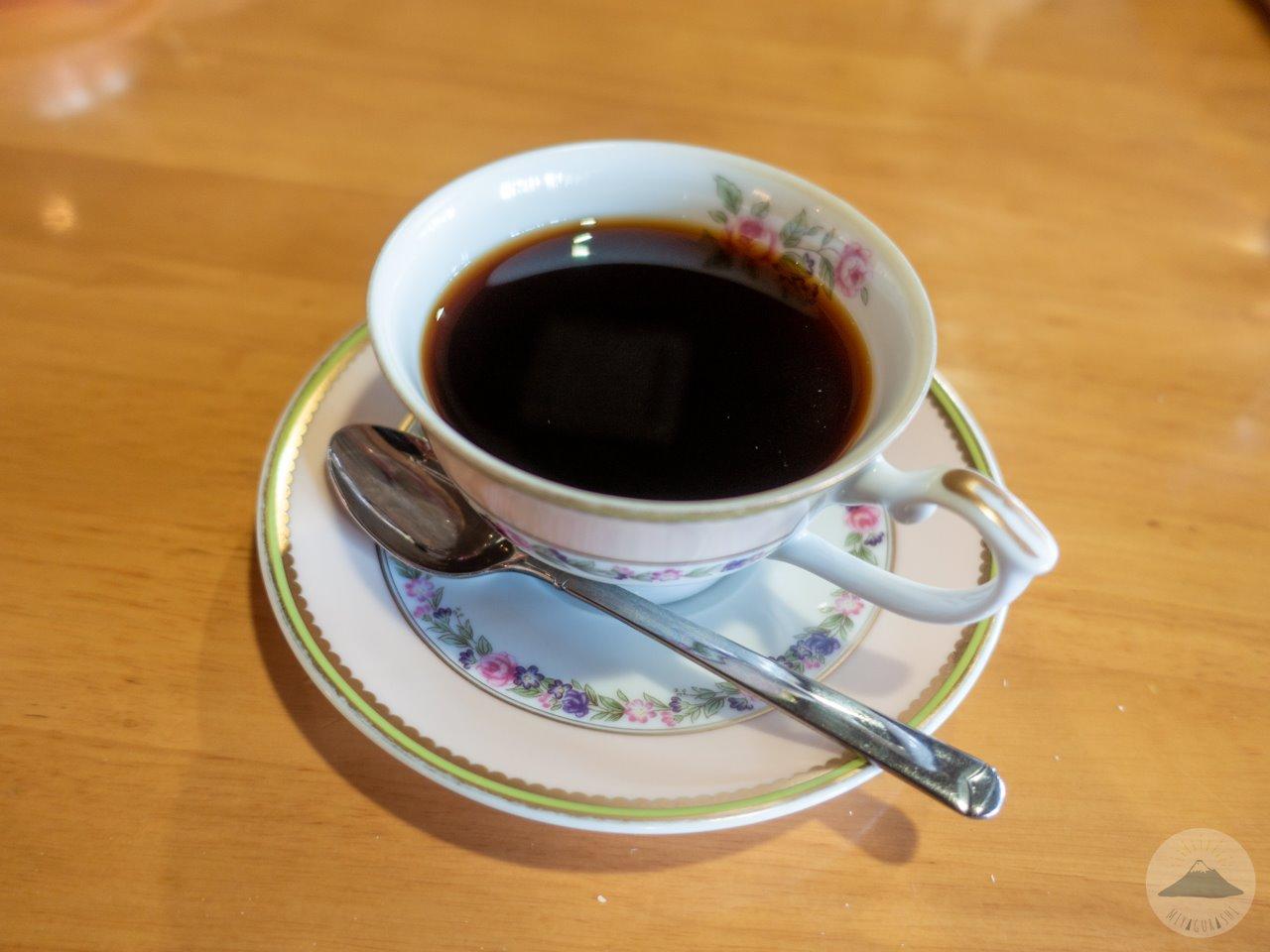王様のカレー宮原店のホットコーヒー