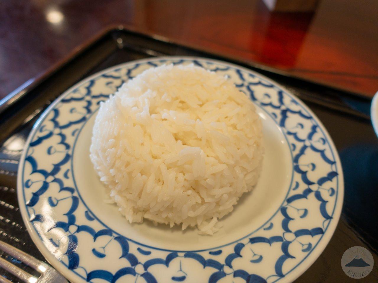 タイ屋台料理ユキズキッチンのジャスミンライス