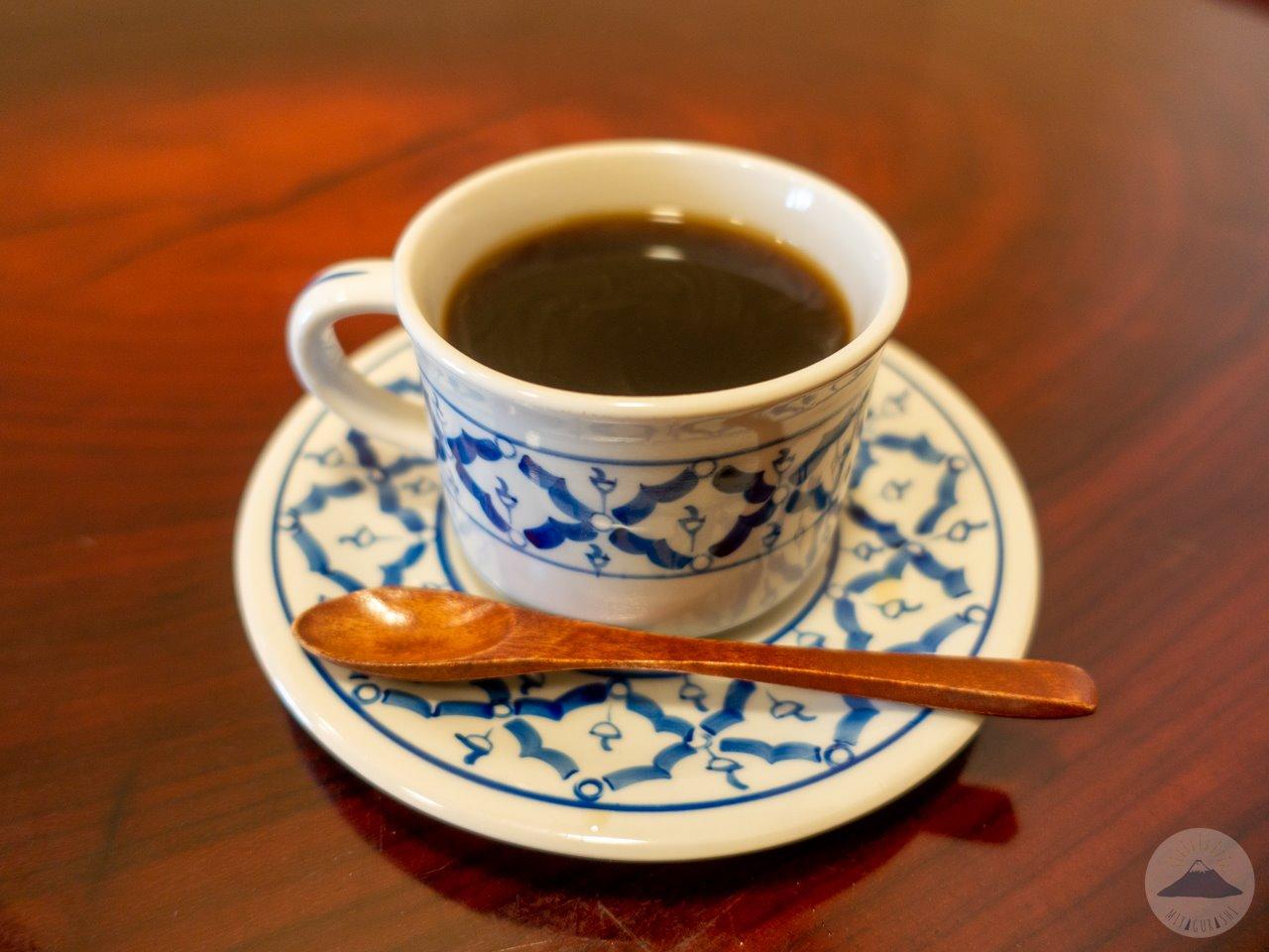 タイ屋台料理ユキズキッチンのホットコーヒー